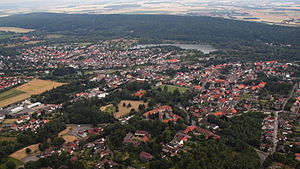 Harly Forest - View over Vienenburg and Harly Forest