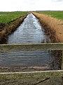 View along a drain - geograph.org.uk - 666466.jpg