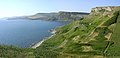 View north from the cliffs of St Aldhelm's Head, Isle of Purbeck - geograph.org.uk - 27870.jpg