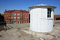 View of circular stair cap on battery torbert at fort delaware.jpg