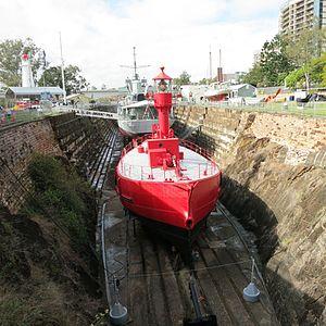 South Brisbane Dry Dock - South Brisbane Dry Dock, 2016