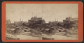 View of the locks, Lockport, N.Y, by F. B. Clench.png