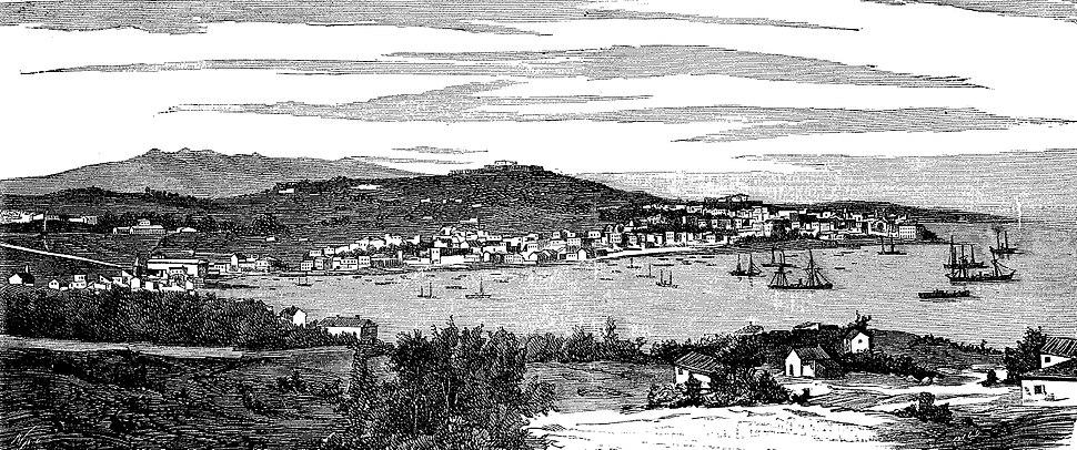 Vigo en 1877
