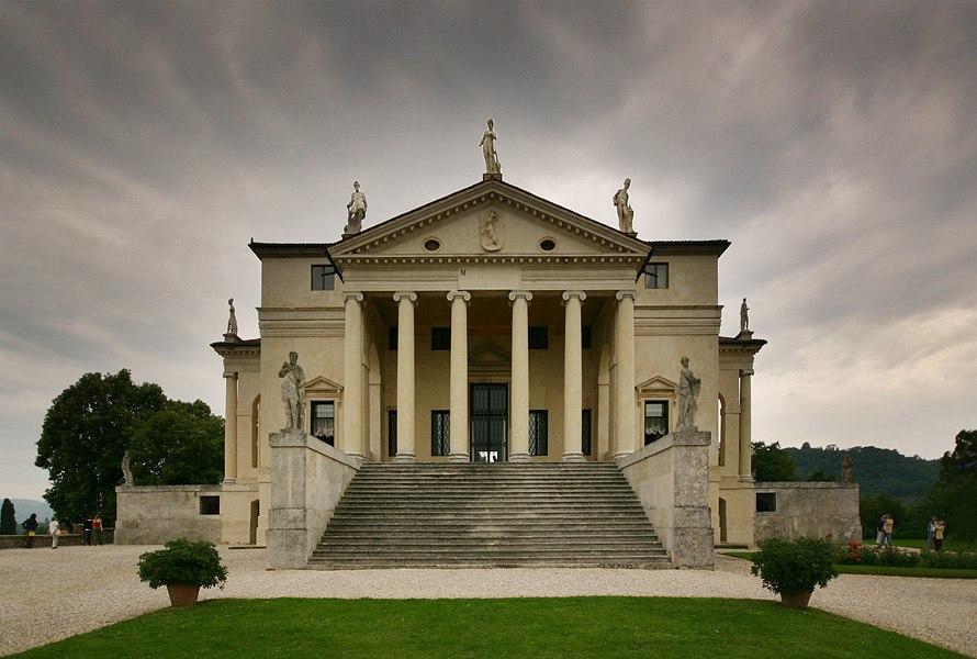 Villa Rotonda front