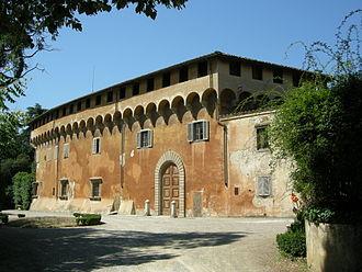 Platonic Academy (Florence) - Headquarters of the group, Villa di Careggi
