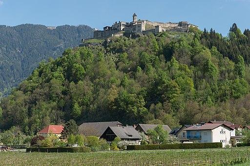 Villach Gratschach Burgruine Landskron 29042015 0841