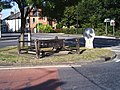 Village Stocks, Pinchbeck - geograph.org.uk - 548814.jpg