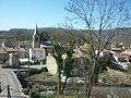 Villeneuve-d'Olmes, centre du village.JPG