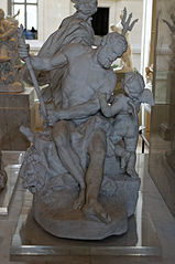 Hercules chained by Cupid