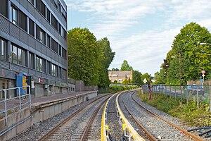 Holmenkollen Line - Vinderen Station