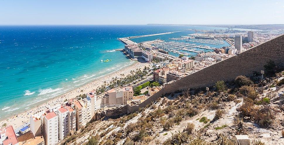 Vista de Alicante, España, 2014-07-04, DD 58