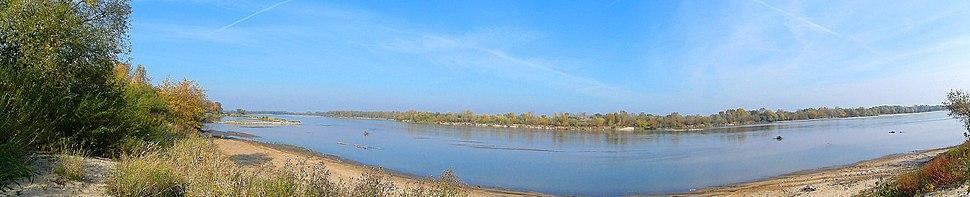 Vistula near Pilica mouth