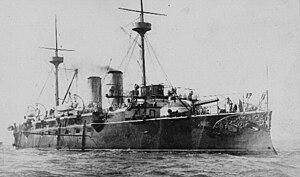 Spanish cruiser Vizcaya - Image: Vizcaya far 106