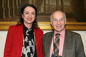 Vladimir Luxuria - The Honourable Luxuria with President of the Chamber of Deputies Fausto Bertinotti in 2006.
