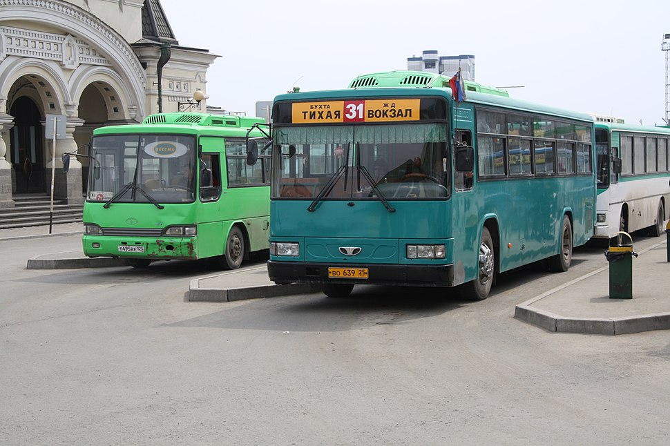 Vladivostok bus