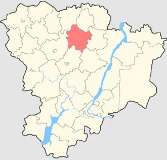 Danilovsky District, Volgograd Oblast - Image: Volgogradskaya oblast Danilovsky rayon
