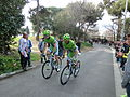 Volta Catalunya 2013. Brian Vandborg i Federico Canuti.JPG
