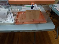 Voting box for Senate elections in Madrid.jpg