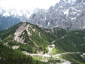 Vršič Pass - The Vršič Pass