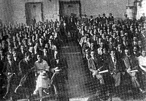 League of Communists of Yugoslavia - Delegates of the Second Congress of the Communist Party of Yugoslavia, Vukovar 1920.