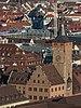Würzburger Rathaus as seen from Festung Marienberg 20140112 3.jpg