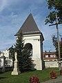 Węgrów kościół Wniebowzięcia NMP dzwonnica1;karen north.JPG