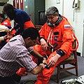 W. Riumin przed misją STS-91.jpg