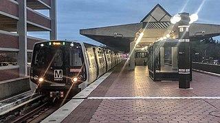 College Park–University of Maryland station Washington Metro station