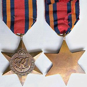 Burma Star - Image: WW2 Burma Star