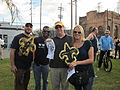 WWOZ 30th Parade Elysian Fields Lineup Fleurs Who Dat 30.JPG