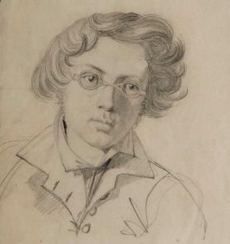 Carl Wahlbom - Self-portrait (1830)
