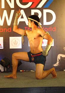 泰国拳战舞