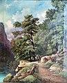 Waldlandschaft - Adolf Chwala 1862.jpg