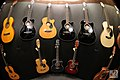 Wall of acoustic guitars - Expomusic 2014.jpg