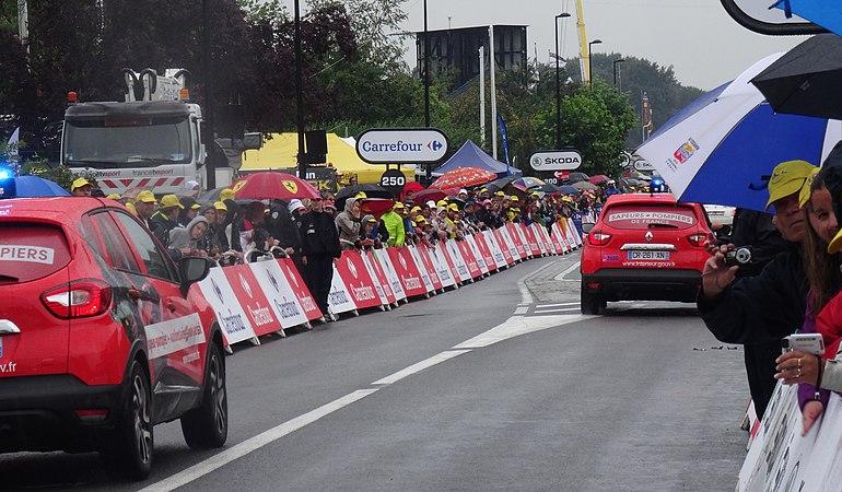 Wallers - Tour de France, étape 5, 9 juillet 2014, arrivée (A47).JPG