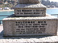 War memorial, Salcombe, Devon (2).JPG
