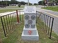 Warren McGill Memorial Park marker, Cross City.JPG