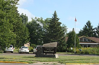 Washburn, Wisconsin - Image: Washburn Wisconsin Ranger Station Chequamegon Nicolet National Forest