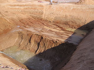 Rub' al Khali - Water found below ground level in the Rub' al Khali