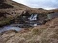 Waterfall on Afon Eiddew - geograph.org.uk - 1754457.jpg