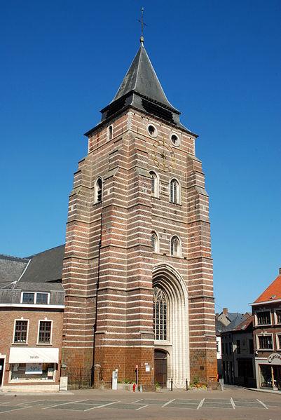 Belgique - Wavre - Église Saint-Jean-Baptiste