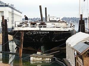 Wawona (schooner) - Image: Wawona 39