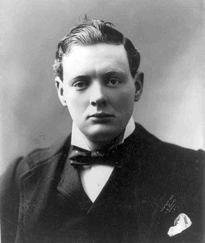 Черчилль в 1900 году