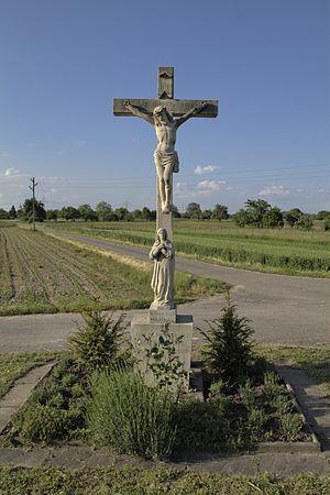 Steinmauern - Wayside cross in Steinmauern
