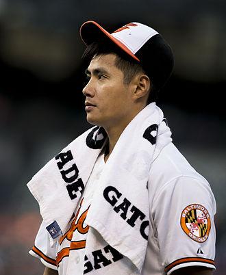 2015 Baltimore Orioles season - Pitcher Wei-Yin Chen.