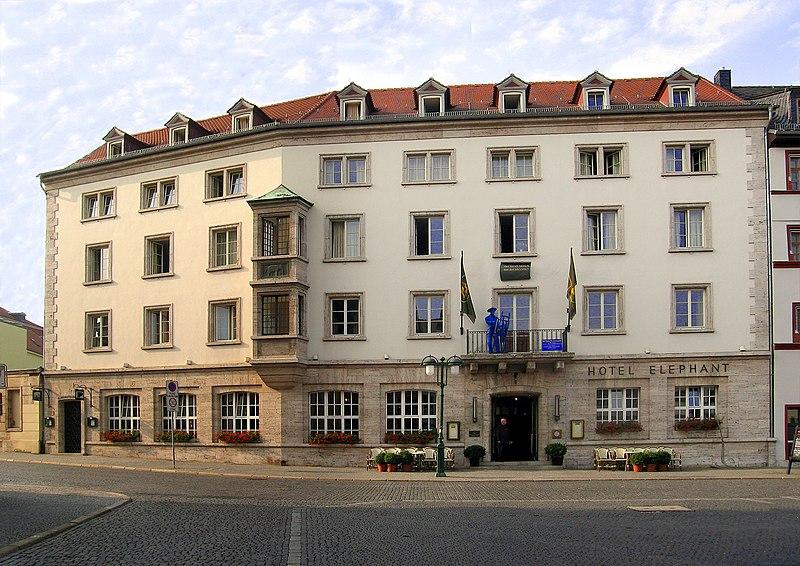 Fil:Weimar Hotel Elephant.jpg