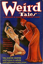 Weird Tales cover image for March 1936