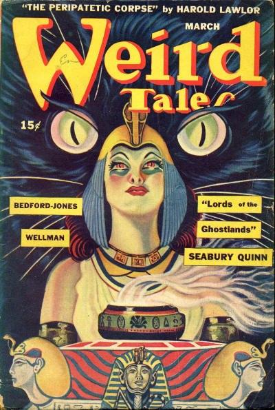 Weird Tales March 1945