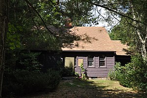 National Register of Historic Places listings in Kent County, Rhode Island - Image: West Greenwich RI Stephen Allen House