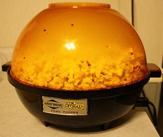 Popcorn maker - Stir Crazy popcorn popper